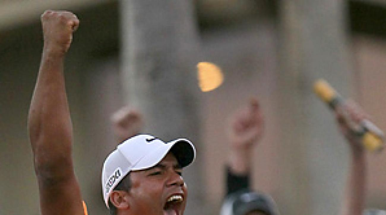 In just his fifth PGA Tour start, Jhonattan Vegas won the Bob Hope Classic.