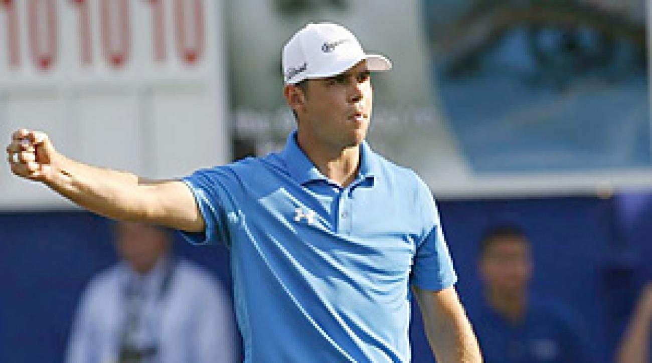 Gary Woodland didn't miss a putt inside 20 feet during his final round at the Transitions Championship.