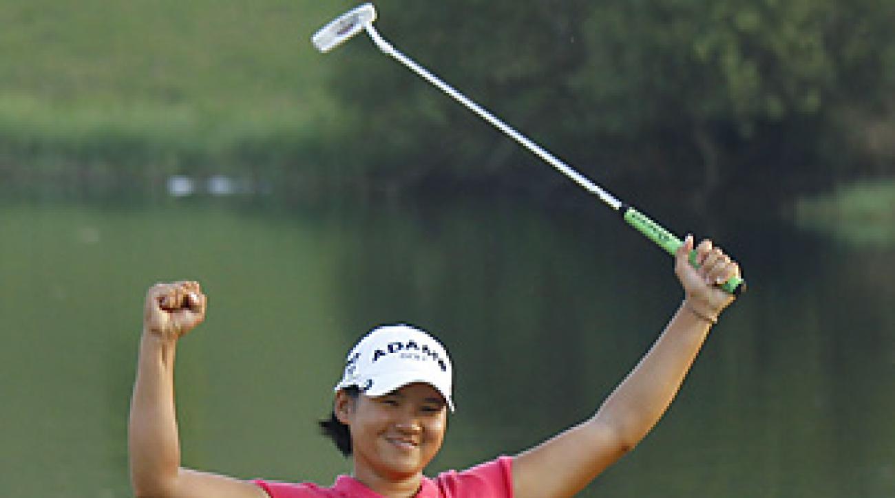 Yani Tseng earned her 10th worldwide victory of 2011.