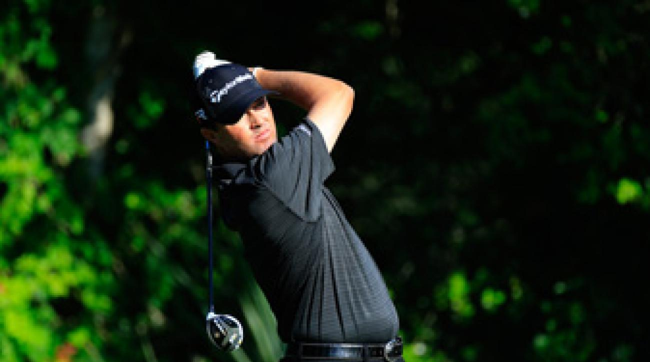 Ryan Palmer is only three shots off the lead at Sawgrass.