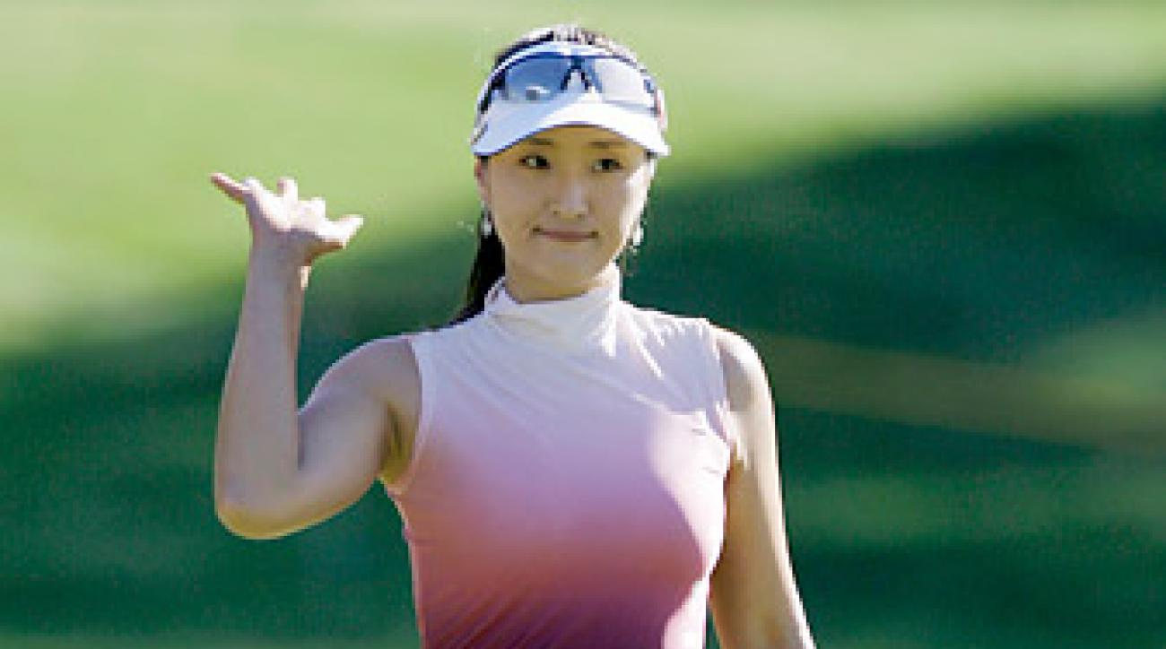 Grace Park won six tournaments in her career, including one major title.