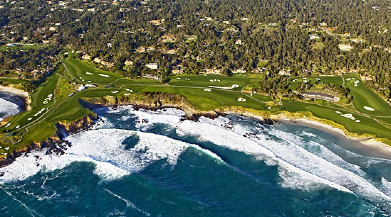 Even if the scores are high, the scenery at Pebble Beach will compensate for it.