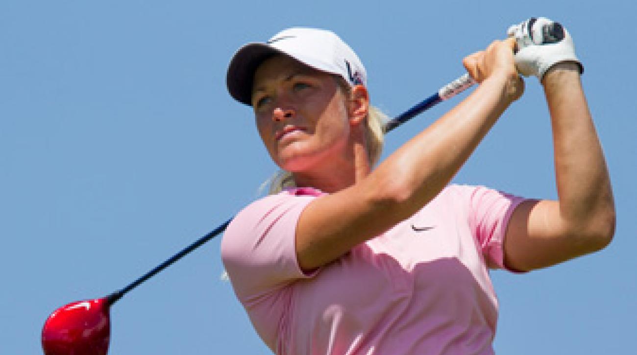 Suzann Pettersen won her 11th-career title on Saturday.