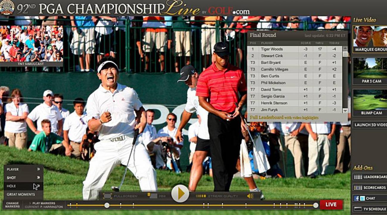 PGA Championship Live Video Player