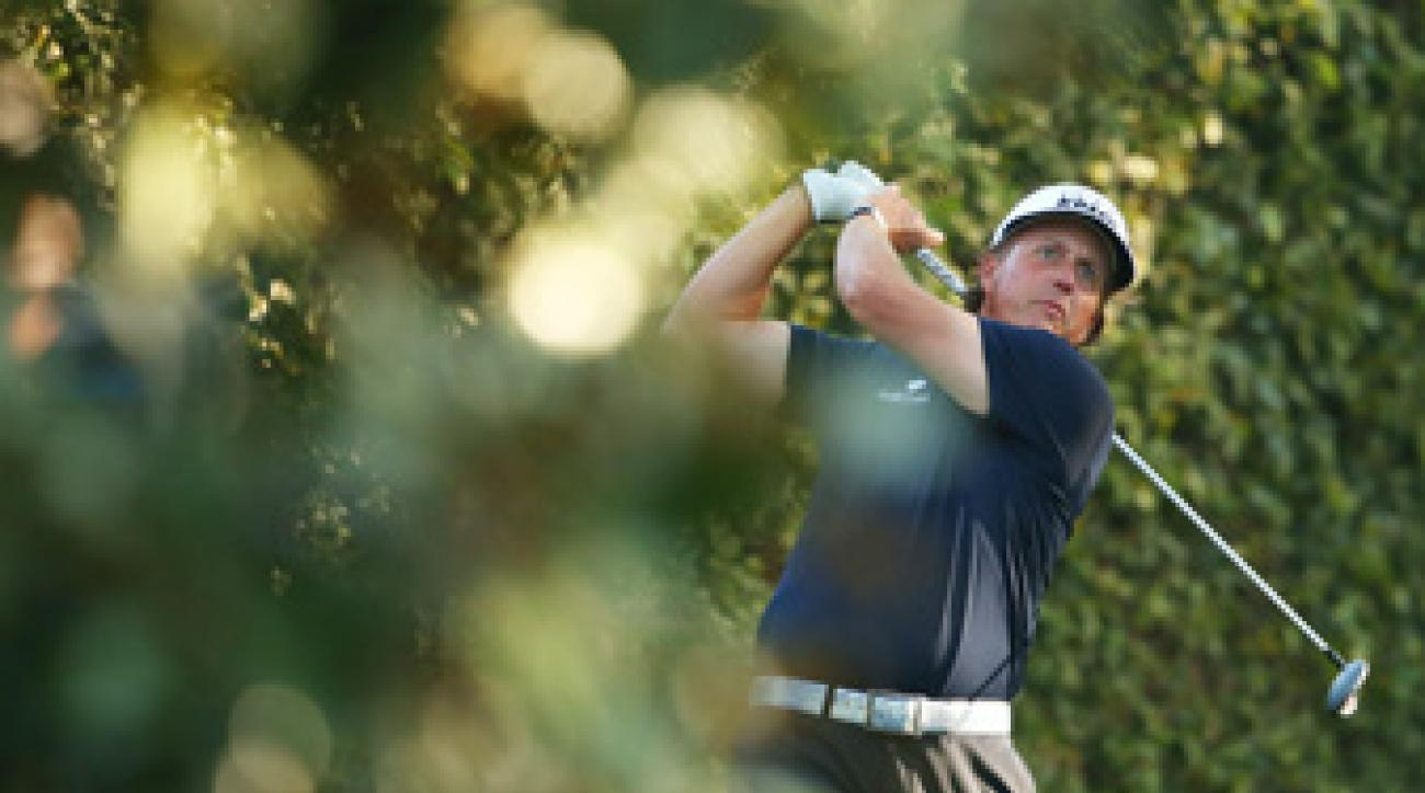 Phil Mickelson is using a new driver this week at the Masters.