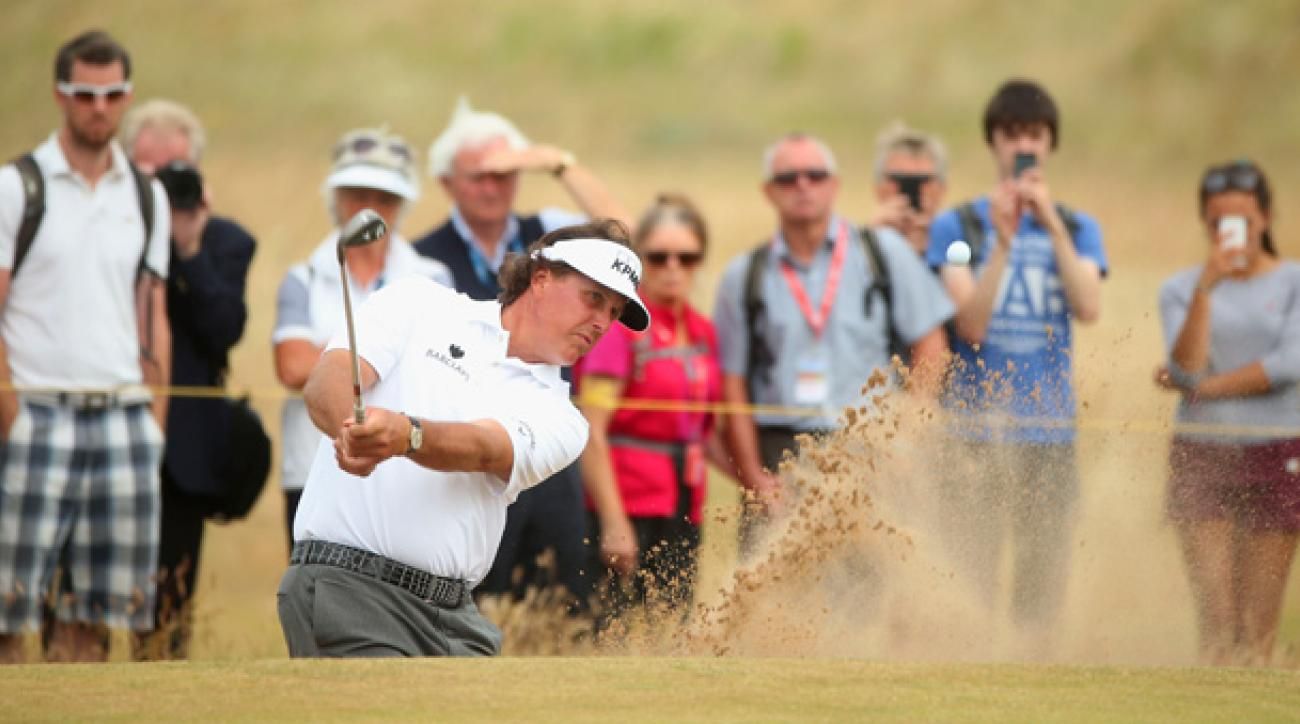 Phil Mickelson has only two career top-10 finishes at the Open.