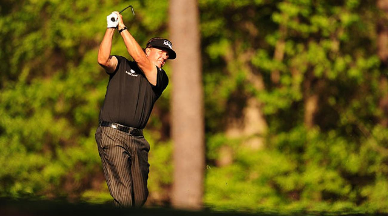 Phil Mickelson is a three-time Masters champion, most recently in 2010.
