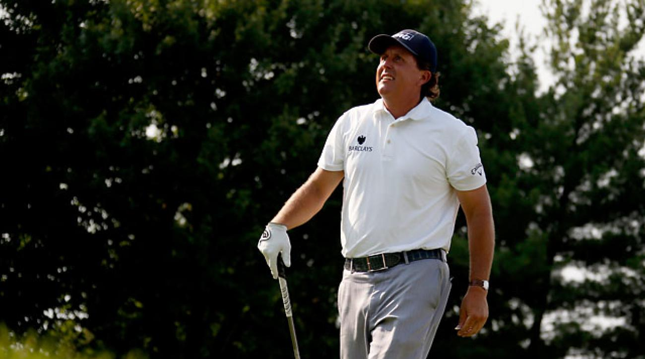 Phil Mickelson's best finish in a major this year was a T23 at the British Open.