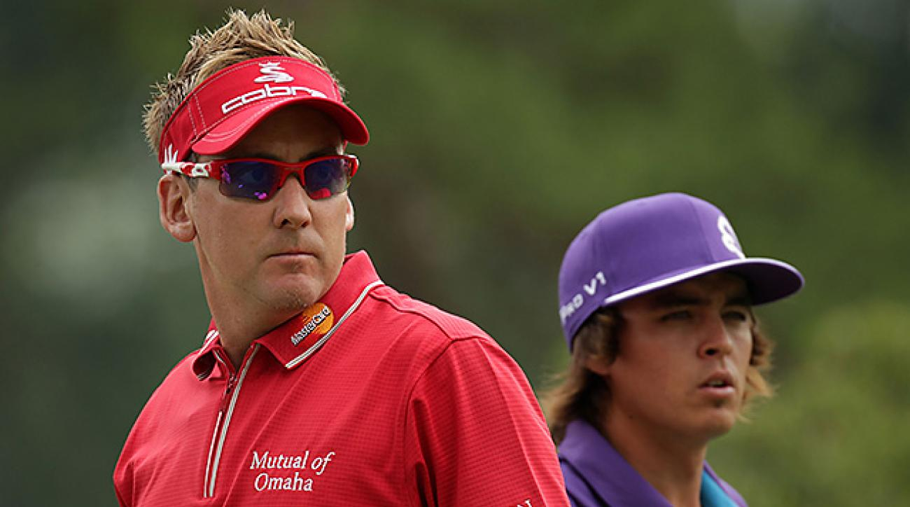 Fashion plates Ian Poulter and Rickie Fowler will square off in Wednesday's first round in one of the most, uh, colorful matches of the tournament.