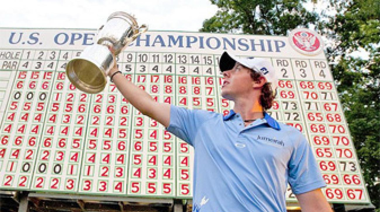 With his 2011 U.S. Open win, McIlroy became the second-youngest major winner since 1934.