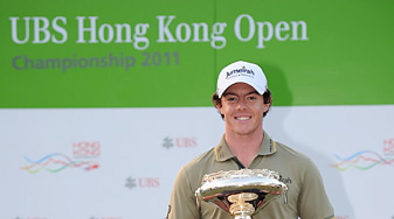 McIlroy won the last year's Hong Kong Open after being runner-up in 2008 and 2009.