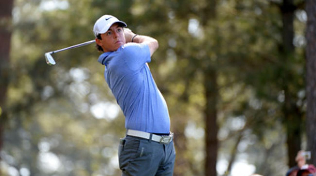 Despite being in contention the past two years at Augusta, Rory McIlroy has yet to record a top 10 at the Masters.