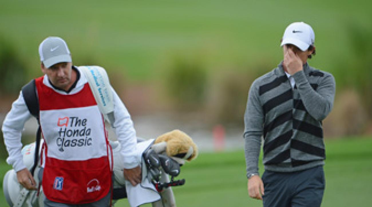 Rory McIlroy withdrew Friday before completing nine holes. He later blamed his poor play on a sore wisdom tooth.