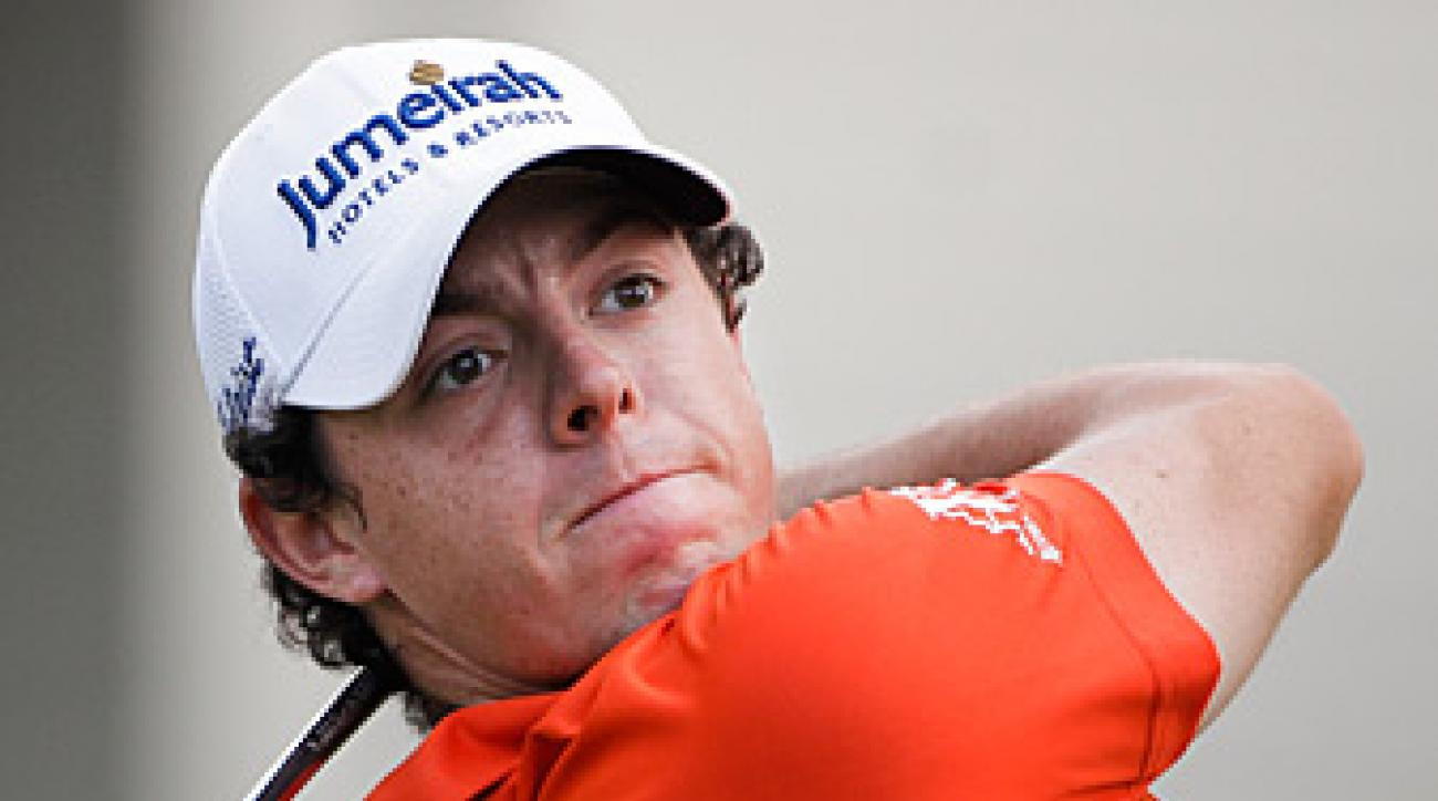 Rory McIlroy birdied three of the last four holes.
