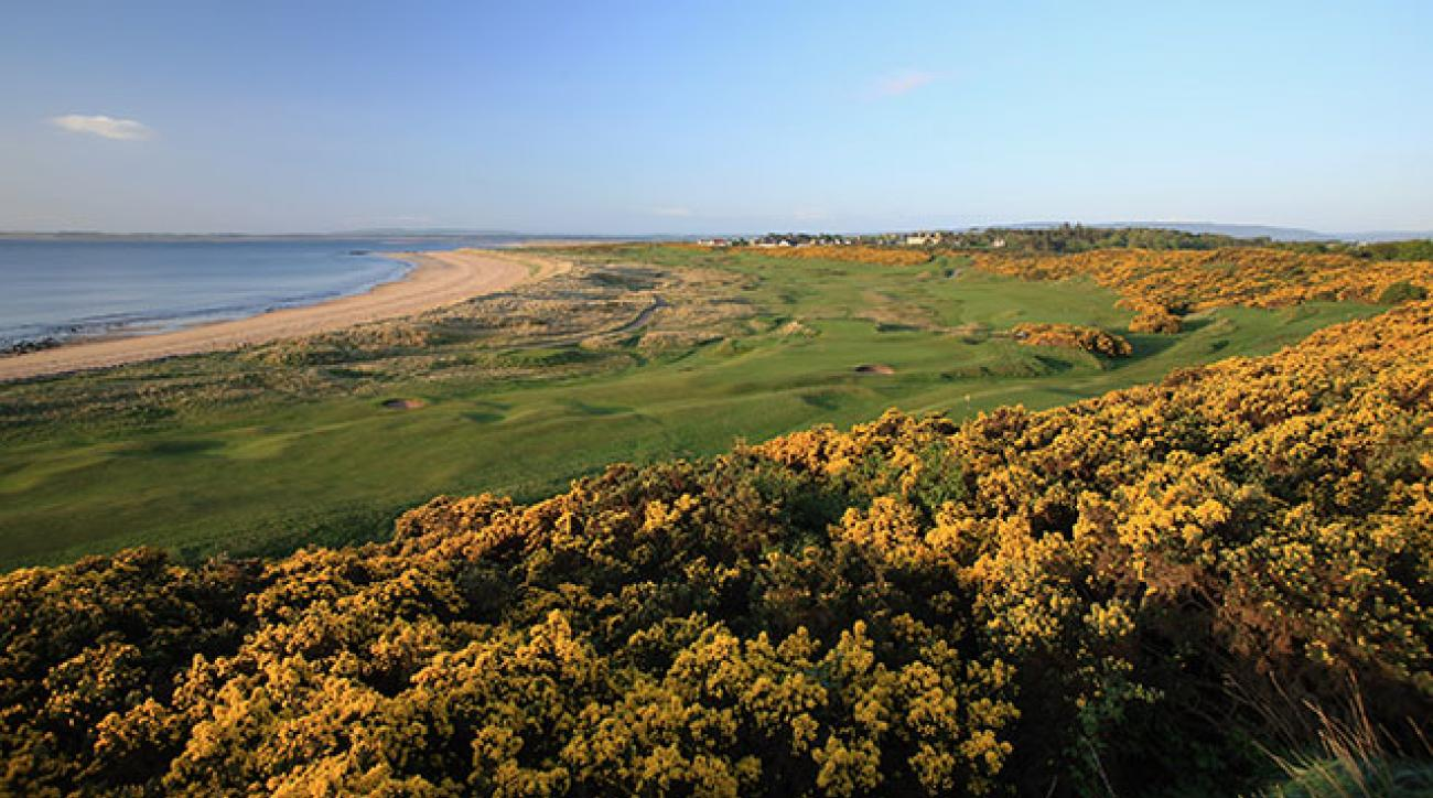 The 449-yard, par-4 11th at Royal Dornoch.