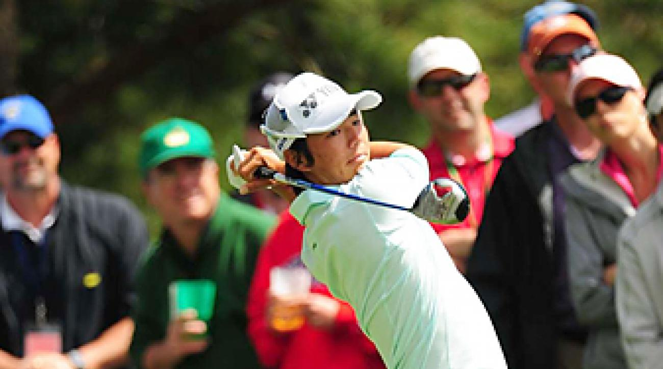 Ryo Ishikawa will make his fifth start at the Masters. He has made the cut only once.