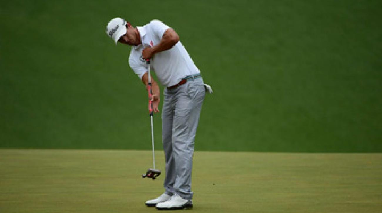 Adam Scott won the Masters in April using an anchored putting stroke.