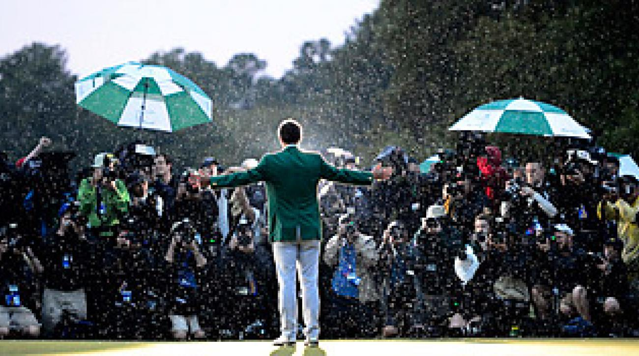 Adam Scott became the first Australian to win the Masters in 2013.