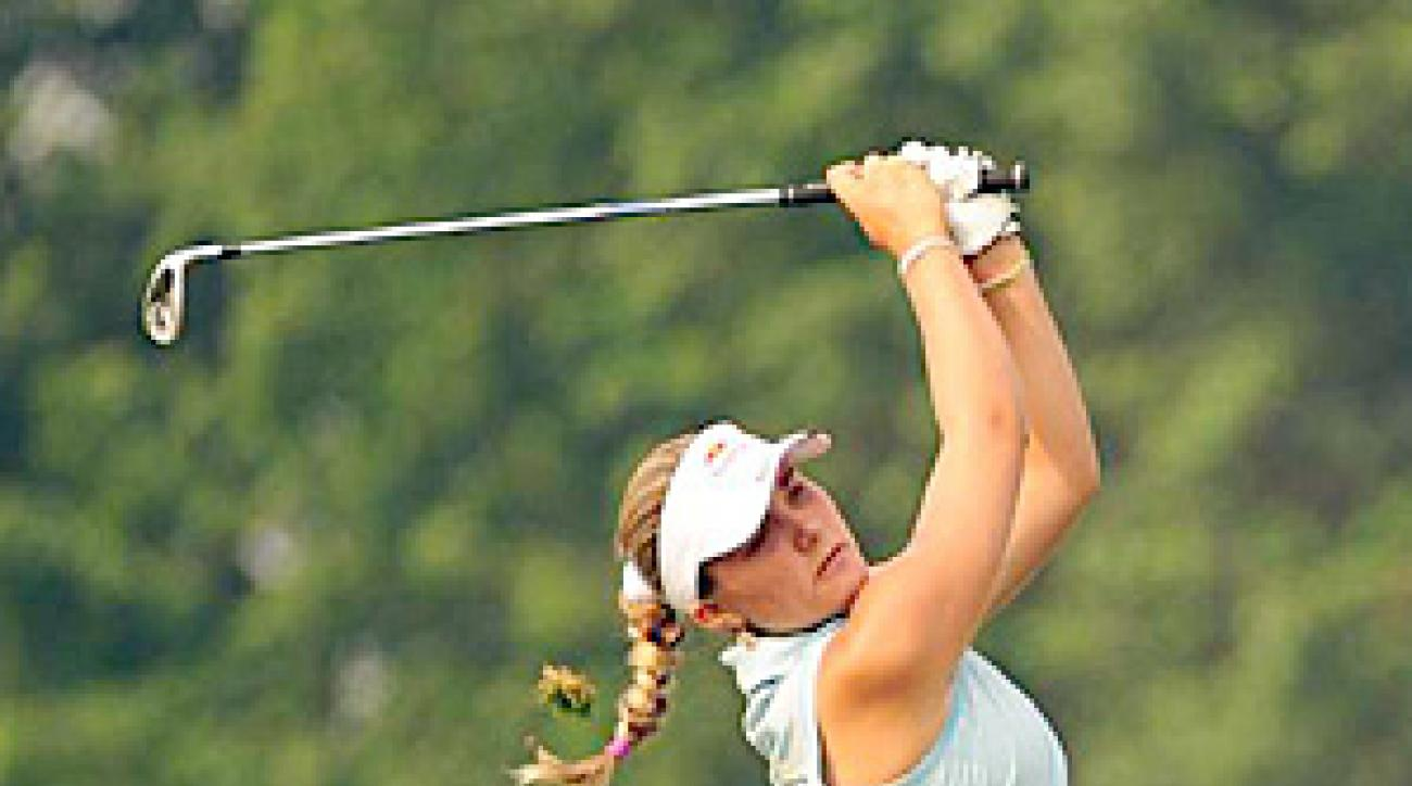 15-year-old phenom Alexis Thompson is the youngest person who appears on the list.