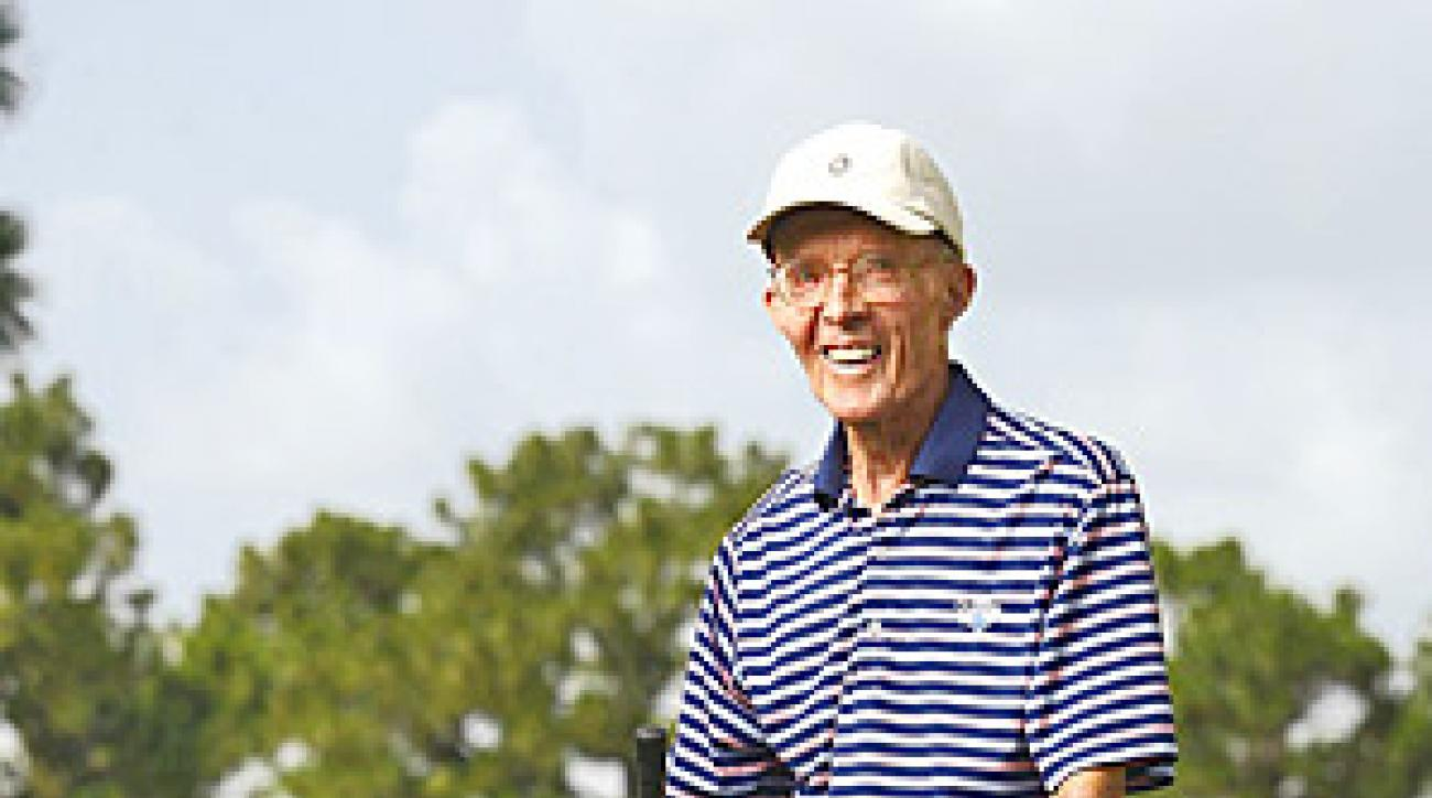 ARMY GOLFER: Ely began tracking every round during which he bettered his age in 1987.
