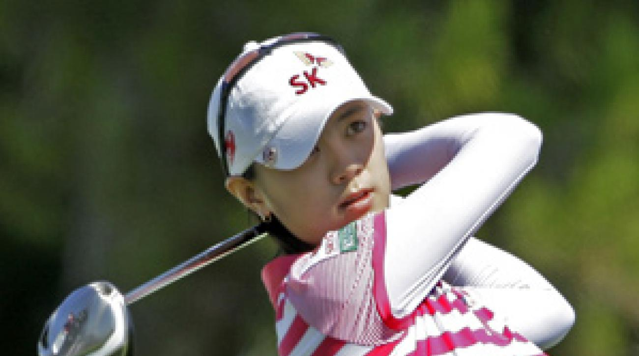 Na Yeon Choi made a birdie on 18 to win at Torrey Pines.