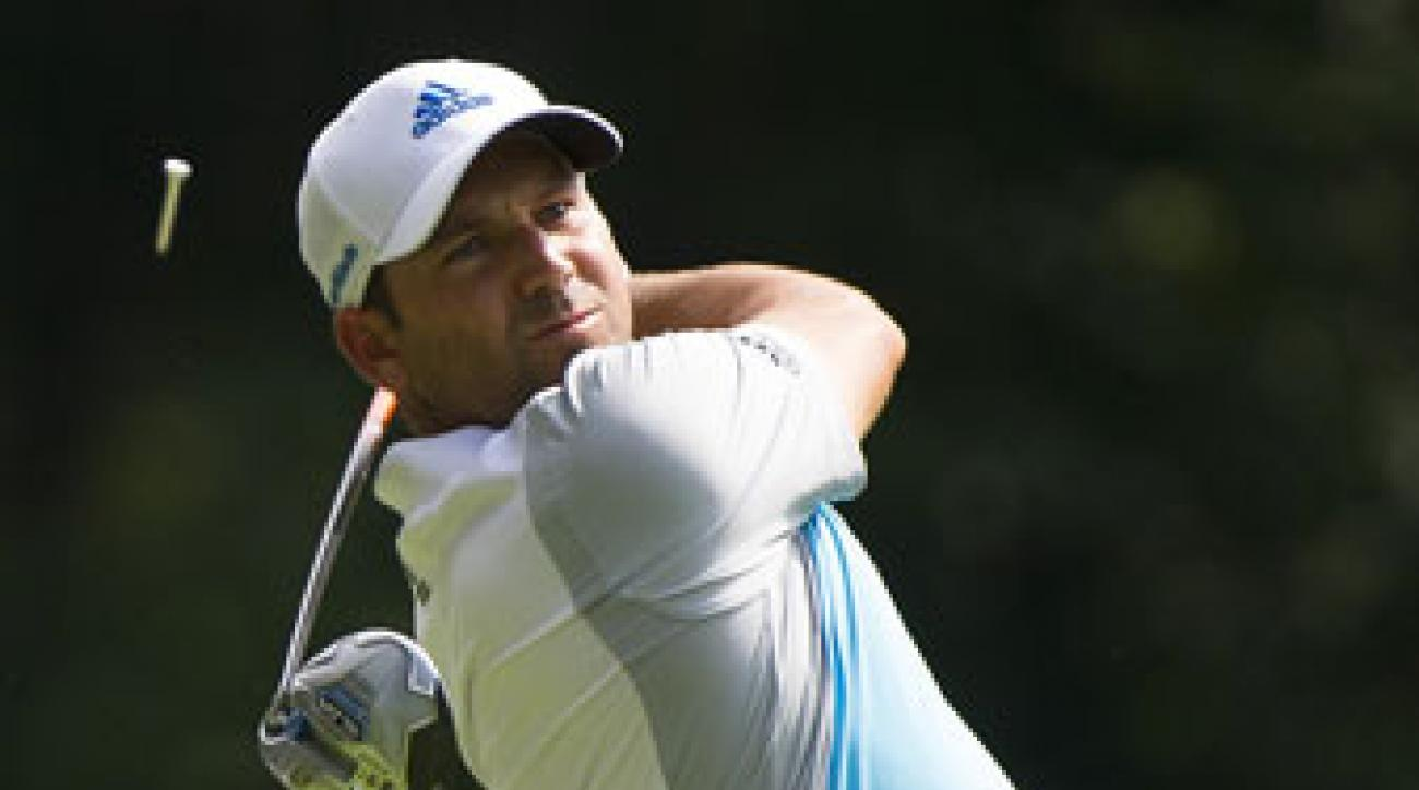 Sergio Garcia is trying to win for the second week in a row.