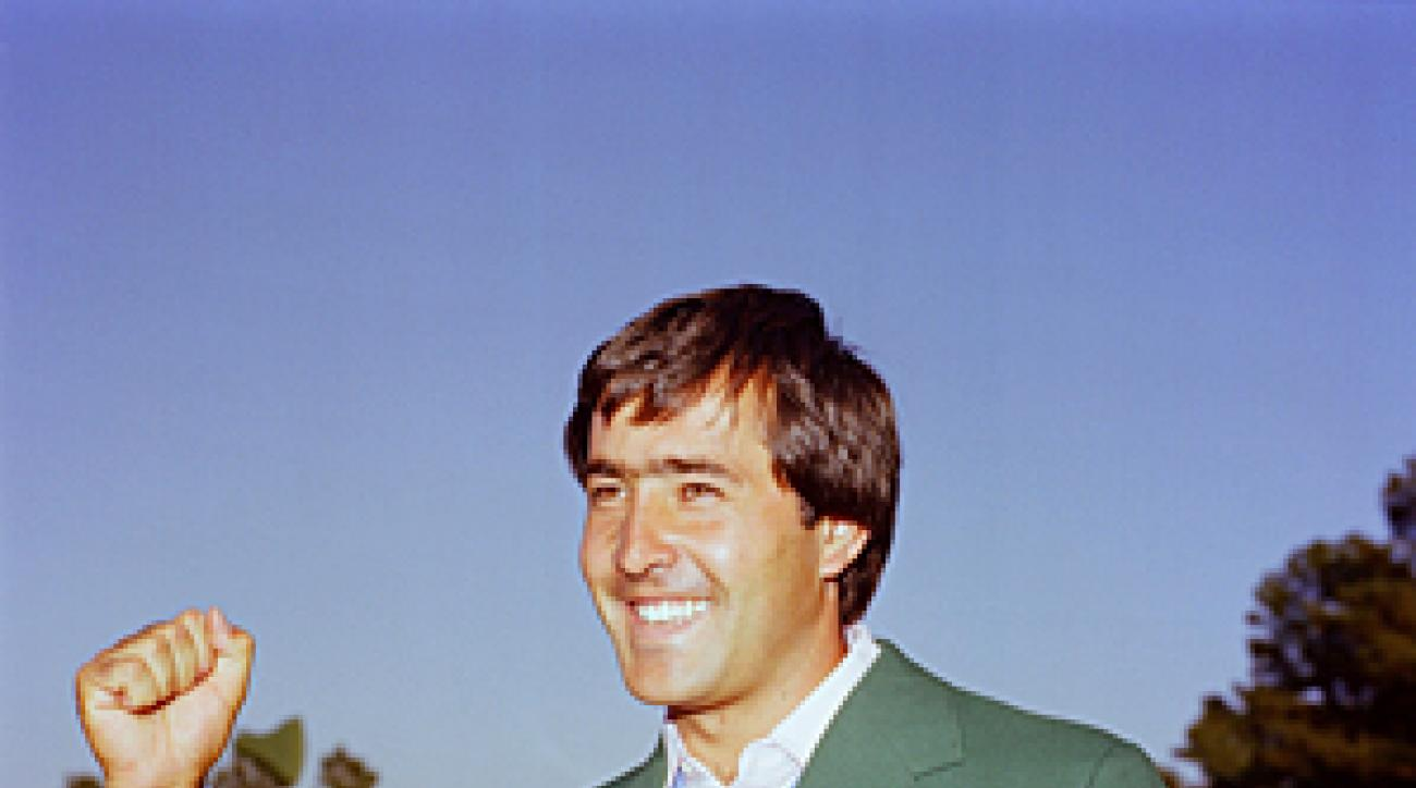 Seve Ballesteros won two green jackets at Augusta.