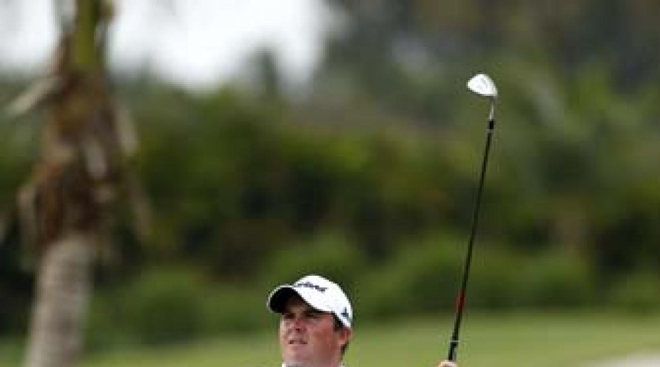 Shane Lowry at the Puerto Rico Open in March. Lowry is currently 69th in the world rankings.