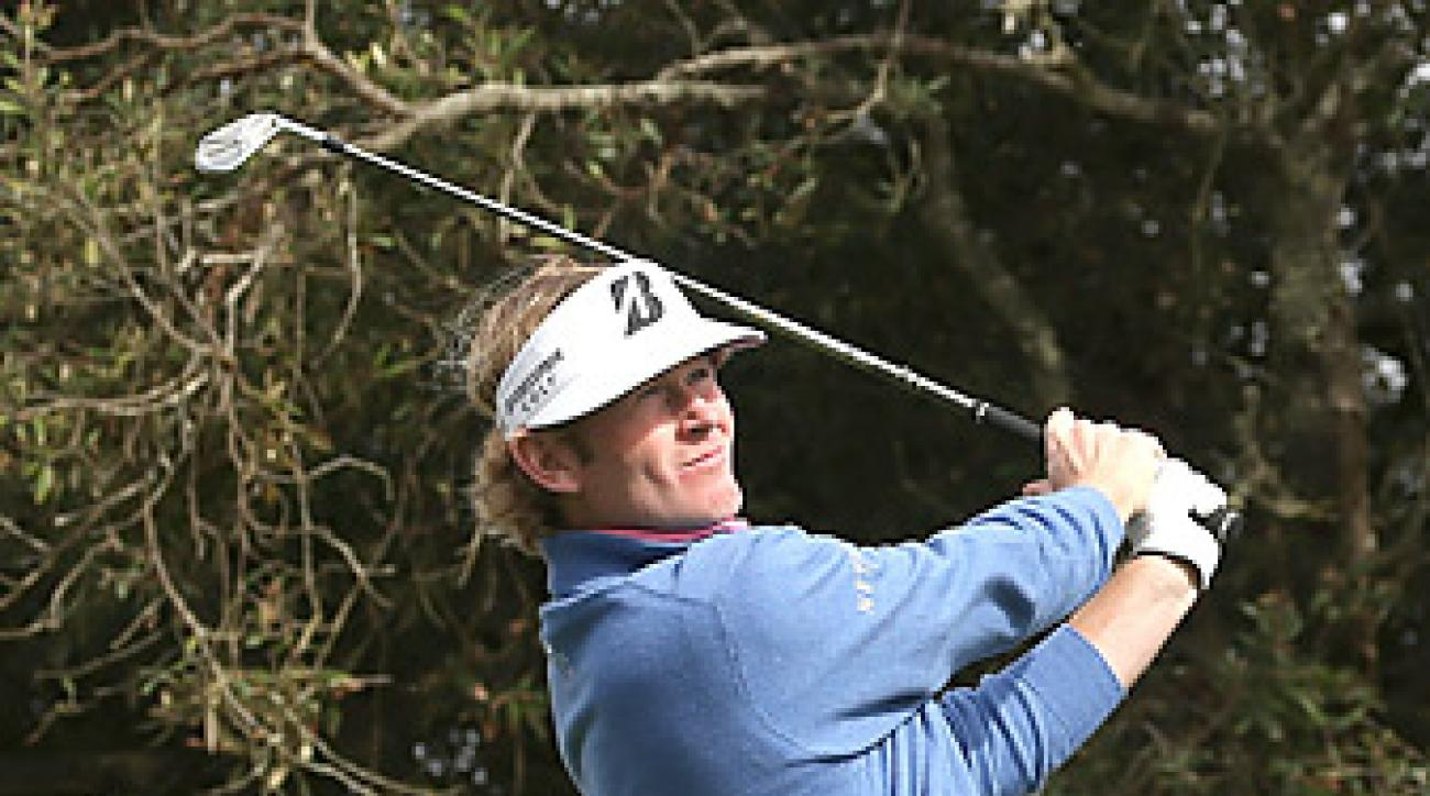Snedeker won the Pebble Beach Pro Am earlier this year.