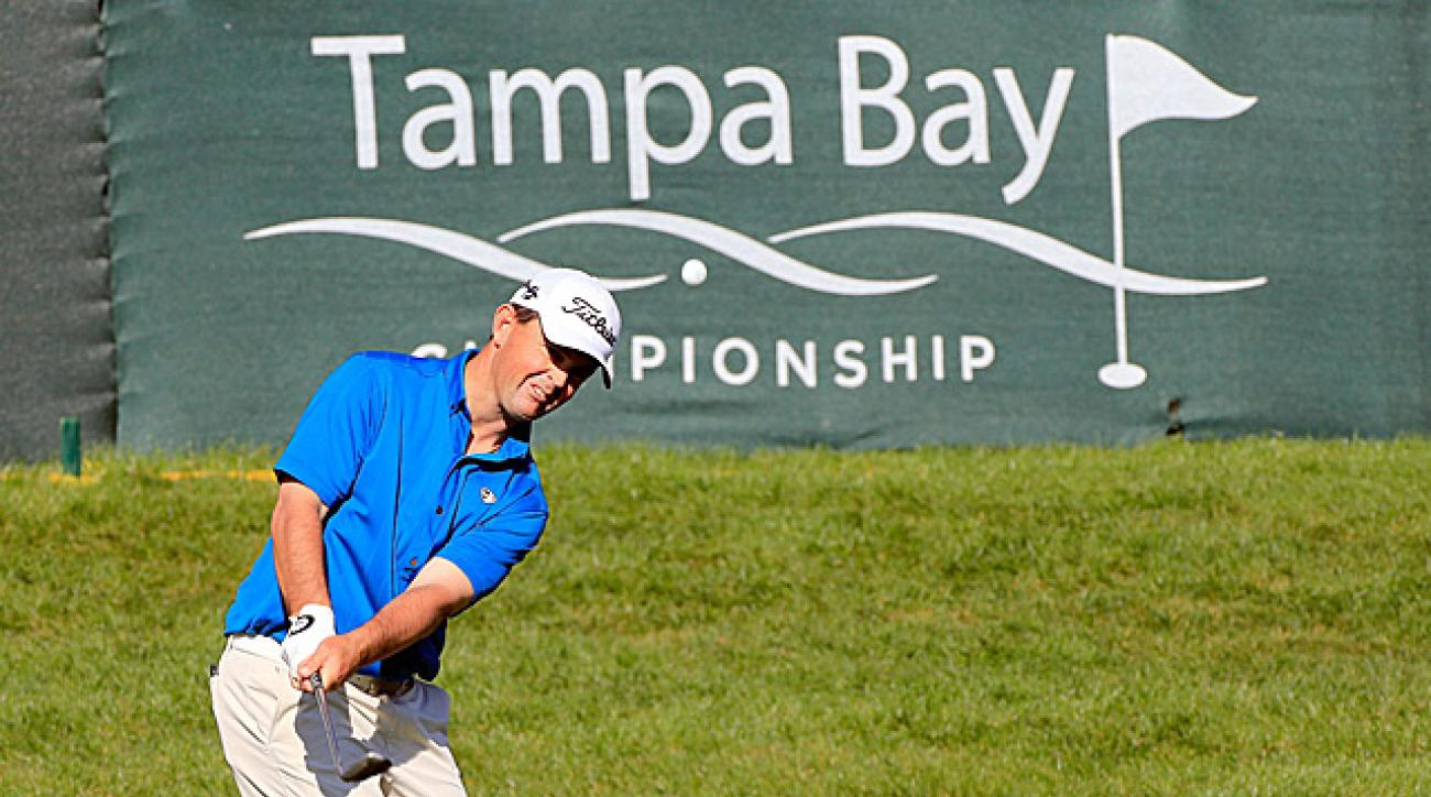 PGA Tour pro Greg Chalmers at the 2013 Tampa Bay Championship.