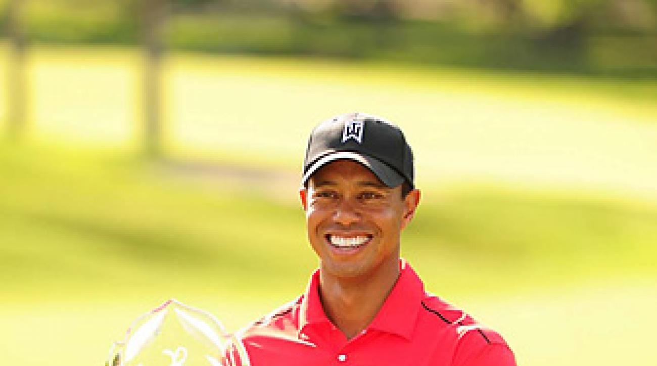 Due to a change in the definition of the award, Tiger Woods is not eligible to be the PGA Tour's Comeback Player of the Year.