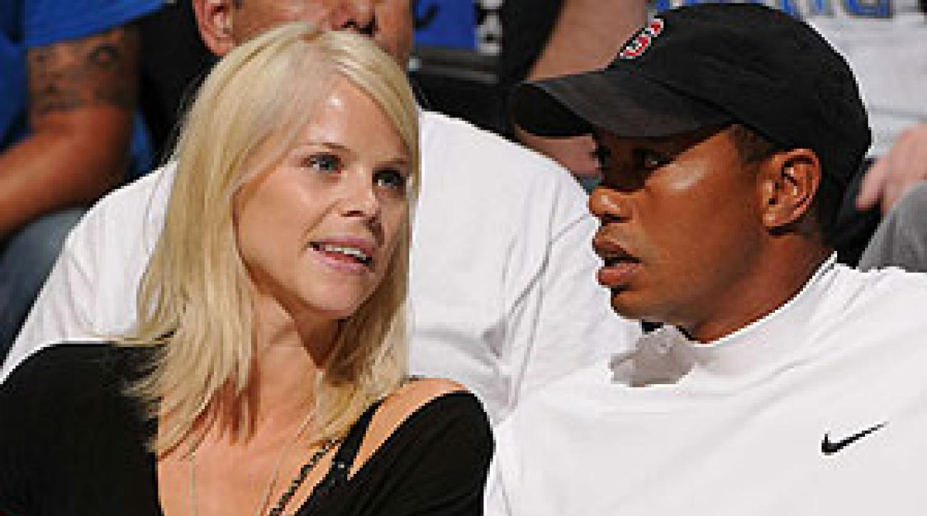 """In a statement, Woods said his wife """"acted courageously when she saw I was hurt and in trouble."""""""