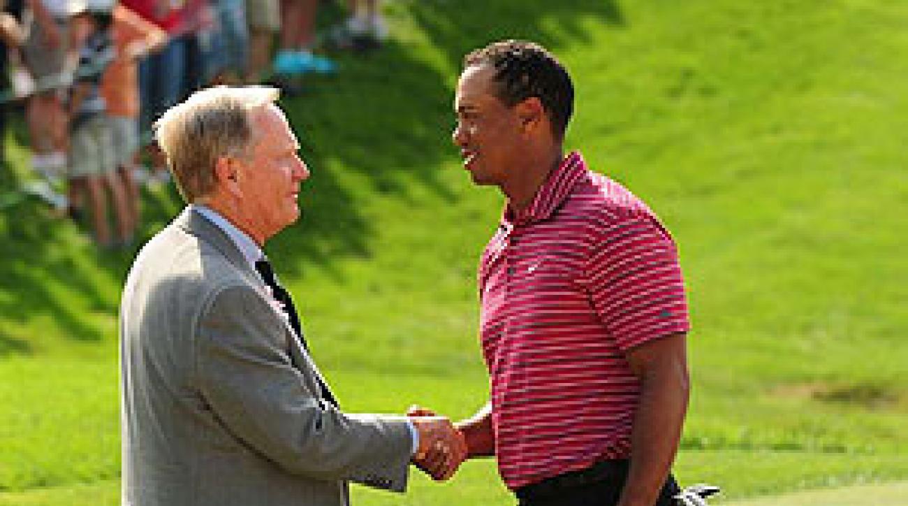 Tiger Woods shot a seven-under 65.