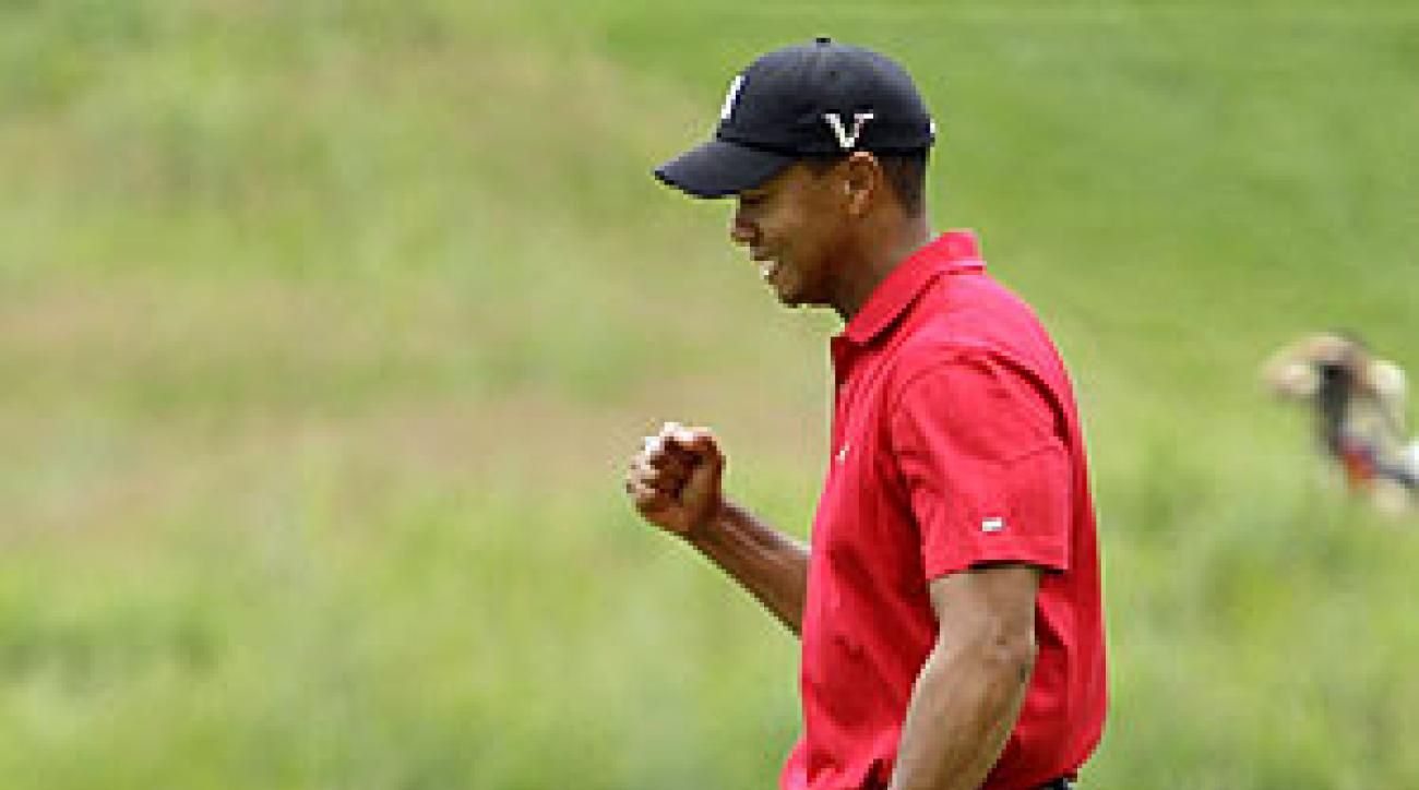 Tiger Woods shot a 67 in the final round.