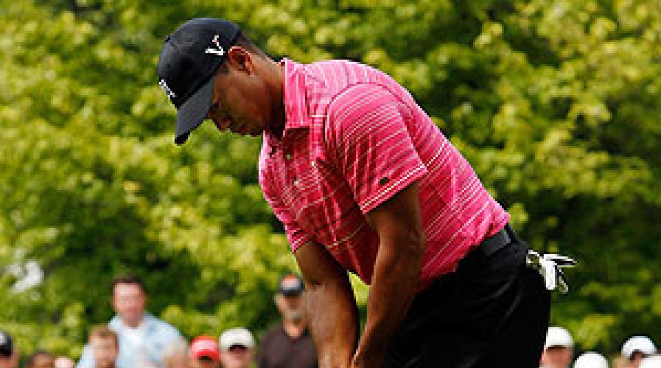 Tiger Woods shot a one-under 71.