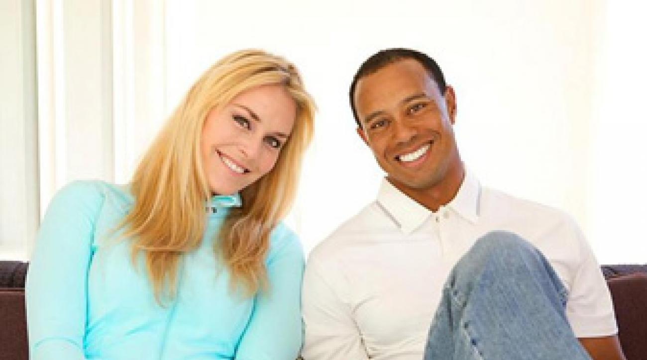 Tiger Woods and Lindsey Vonn went public with their relationship on Monday.