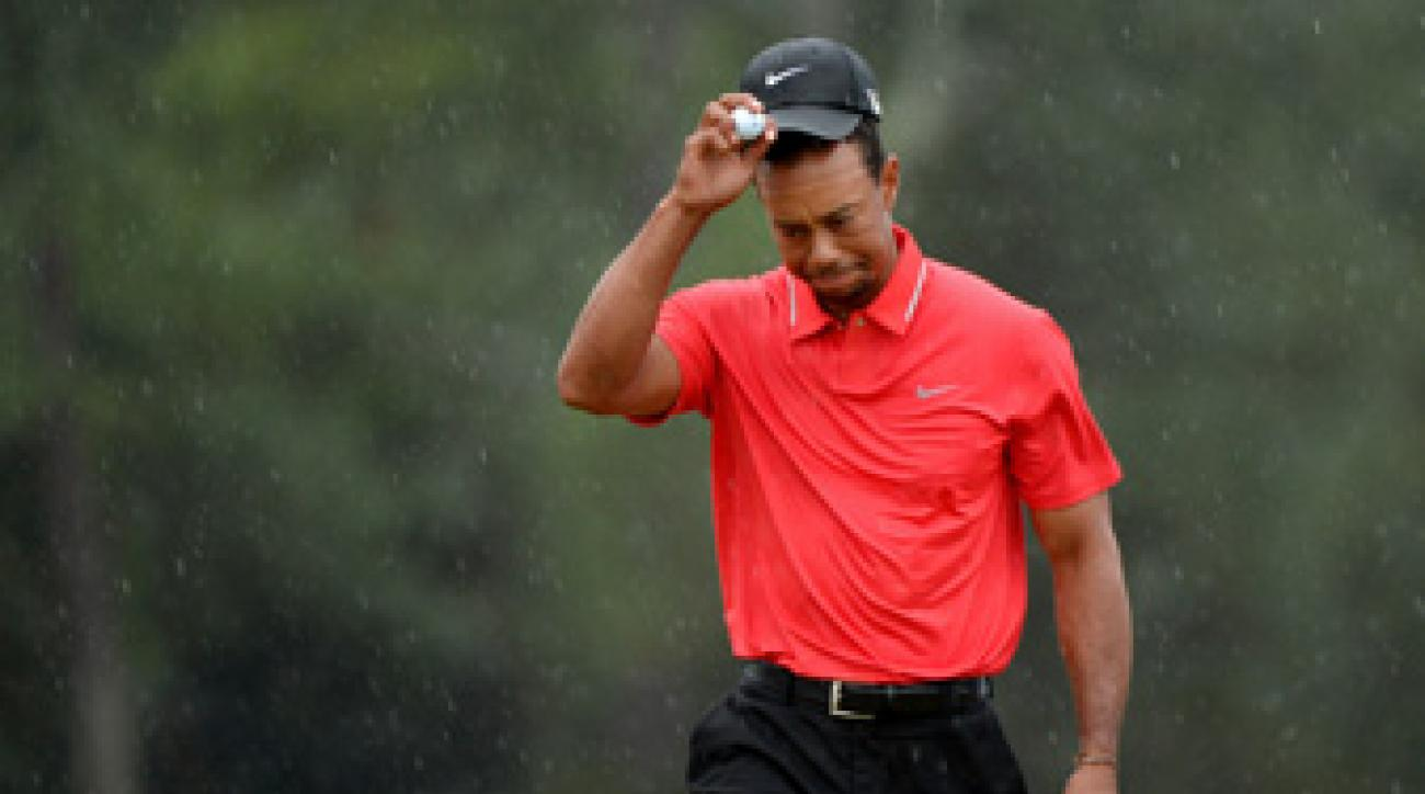 Tiger Woods shot a final-round 70 and missed qualifying for the playoff by four shots.