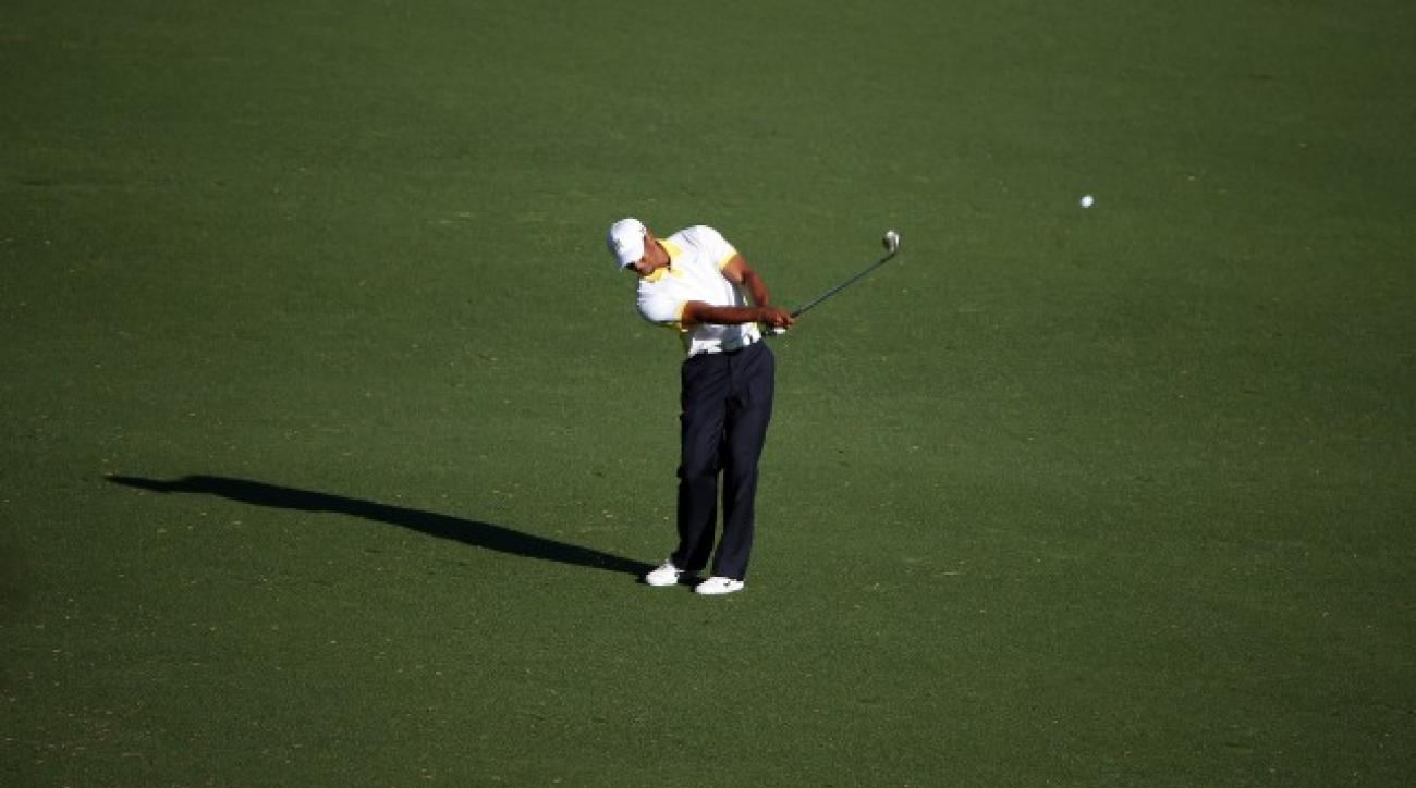 Tiger Woods has been penalized twice in 2013 based on HD video evidence, including one incident at the Masters.
