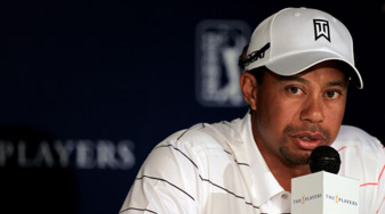 Tiger Woods missed the cut last week at Quail Hollow.