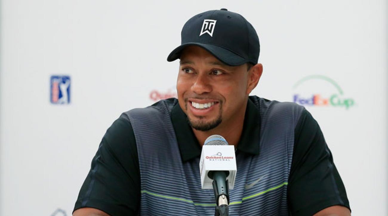 Tiger Woods returns to competitive golf this week at his Quicken Loans Invitational.
