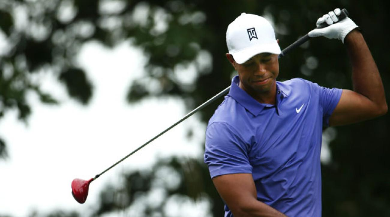 Tiger Woods' last competitive event was the 2014 PGA Championship, where he missed the cut.