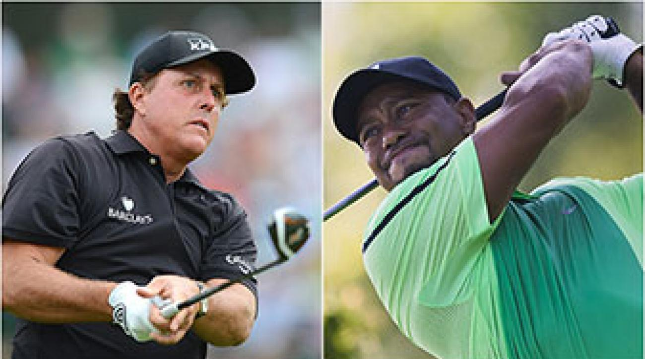 Neither Phil Mickelson nor Tiger Woods has shown anything to suggest he is ready to contend in a major.