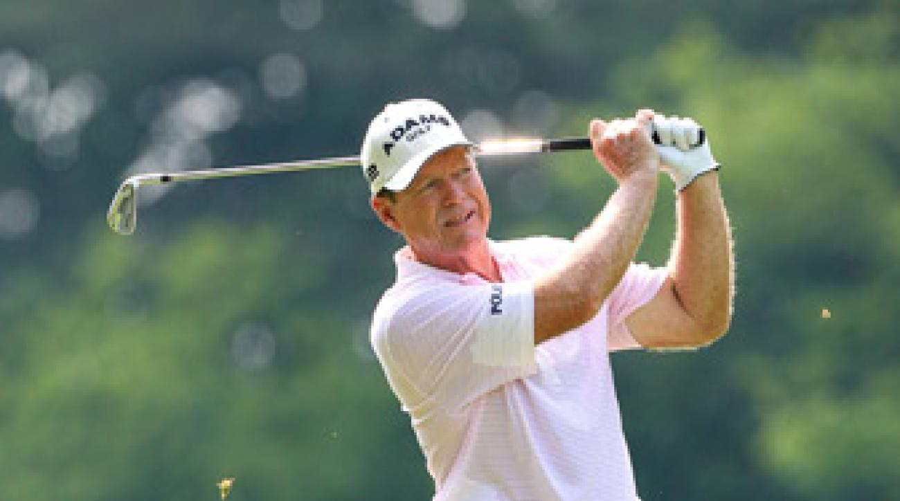 Tom Watson made the cut last week at the Greenbrier.