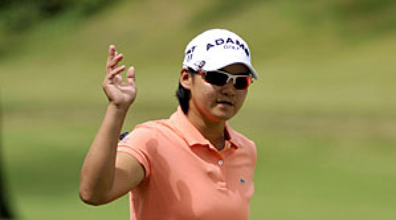 Yani Tseng made six birdies and two bogeys.
