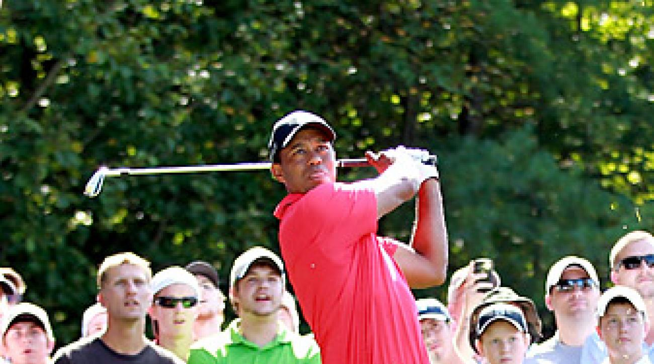 Woods's third place finish at the Deutsche Bank Championship pushed his career earnings over $100 million.