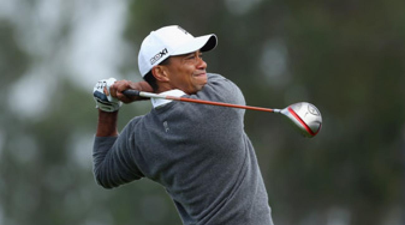 Tiger Woods returns to competition for the first time since winning at Torrey Pines.
