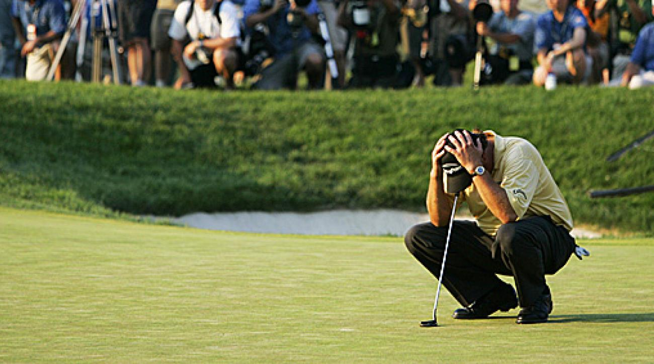 Phil Mickelson's 72nd-hole collapse at the 2006 U.S. Open added to the memorable moments at Winged Foot.