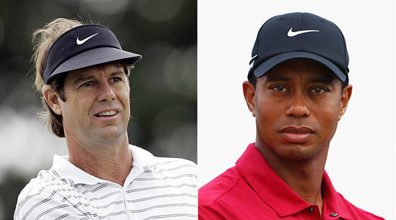 Paul Azinger was the winning Ryder Cup captain in 2008. Tiger Woods missed the event due to an injury.