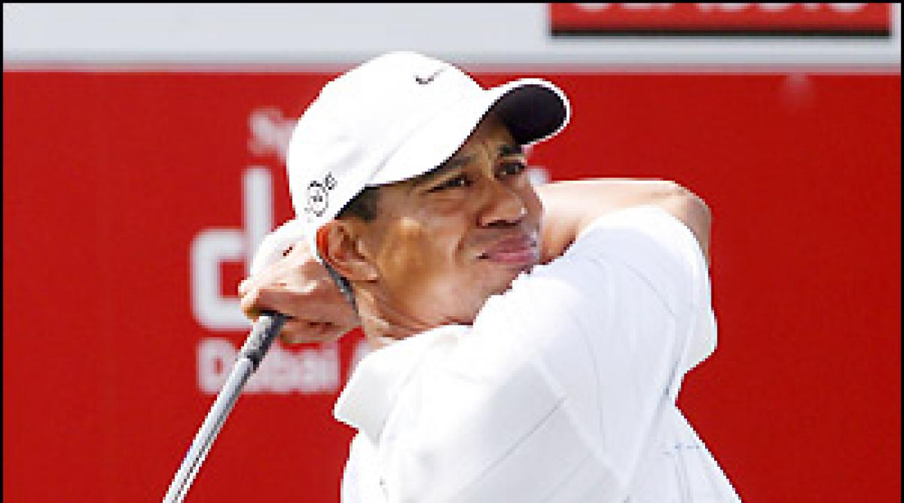Tiger Woods uses Nike's Sumo driver, which is part of the geometric revolution.