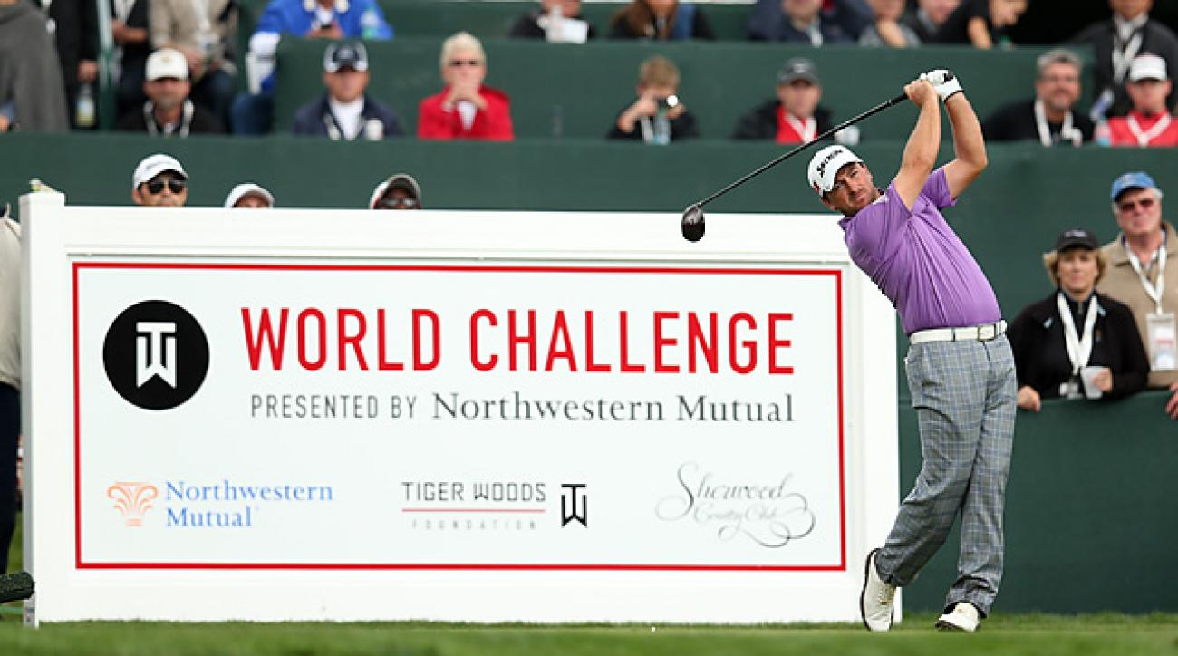 The World Challenge had been at Sherwood Country Club in Thousand Oaks, Calif., since 2001.